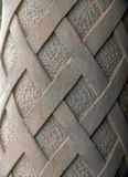 Overladen cementkolom Stock Afbeelding