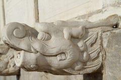 Overladen Chinees beeldhouwwerk Royalty-vrije Stock Fotografie