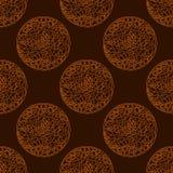 Overladen cirkels met verschillende voorwerpen in hen Royalty-vrije Stock Afbeelding