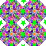 Overladen creatieve textuur Stock Foto