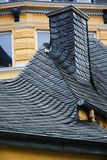Overladen dakwerktegels Royalty-vrije Stock Afbeelding