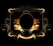 Overladen frame royalty-vrije illustratie