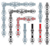 Overladen frame ontwerpelementen Royalty-vrije Stock Afbeeldingen