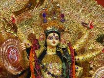 Overladen gouden beeldje   royalty-vrije illustratie