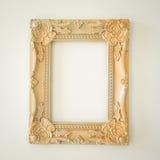 Overladen gouden frame Stock Foto