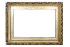 Overladen Gouden Frame Royalty-vrije Stock Foto's