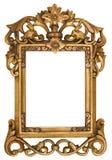Overladen Gouden Omlijsting Royalty-vrije Stock Fotografie