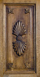 Overladen houten paneel Royalty-vrije Stock Afbeeldingen