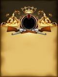 Overladen kader met wapens Royalty-vrije Stock Foto