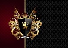 Overladen kader met wapens Royalty-vrije Stock Afbeelding