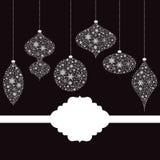 Overladen Kerstmisdecoratie Royalty-vrije Stock Fotografie