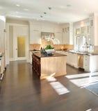 De Keuken van de luxe Royalty-vrije Stock Foto