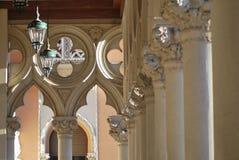 Overladen kolommen Royalty-vrije Stock Fotografie