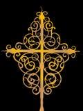 Overladen kruis royalty-vrije illustratie