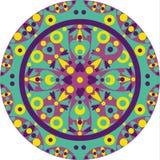 Overladen-Mandala vector illustratie