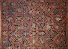 Overladen Marokkaans plafond Royalty-vrije Stock Foto