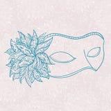 Overladen masker Royalty-vrije Stock Afbeeldingen