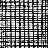 Overladen moderne die textuur, op manueel getrokken abstracte lijnen, kruising wordt gebaseerd Stock Foto