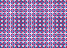 Overladen naadloos patroon, vectorillustratie Royalty-vrije Stock Fotografie