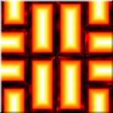 Overladen naadloze textuur Royalty-vrije Stock Afbeelding