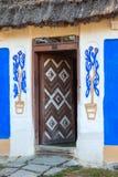 Overladen Oekraïense ingangsdeur royalty-vrije stock foto's
