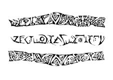 overladen tatoegering vector illustratie