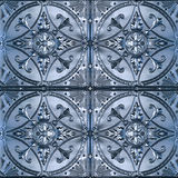Overladen Tin Ceiling Tiles royalty-vrije stock foto