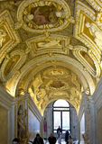 Overladen trapplafond, Doge` s Paleis, Venetië royalty-vrije stock afbeelding