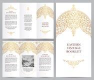 Overladen uitstekend boekje in Oostelijke stijl royalty-vrije illustratie