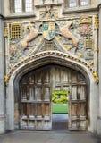 Overladen Universiteitspoort Royalty-vrije Stock Fotografie