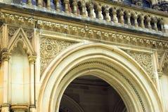 Overladen Victoriaanse Overwelfde galerij Royalty-vrije Stock Foto's