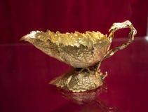 Overladen Zilveren punten in Chester England royalty-vrije stock foto's
