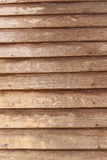 Overlap wood make the wall. background Royalty Free Stock Images