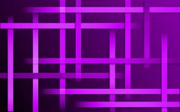 Overlappende purpere violette Strepenachtergrond - Abstract eenvoudig het mozaïekbehang van het barspatroon stock illustratie