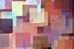 Overlappende vierkante vormen Stock Fotografie