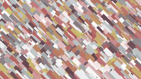 Overlapping background of multicoloured strokes. Animation. Colourful computer strokes are applied in layers and fill