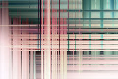 Overlapping blurred lines background Stock Photography