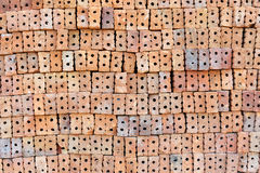 Overlapping bricks Royalty Free Stock Images