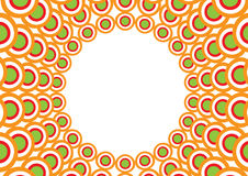 Overlapping circles Stock Images