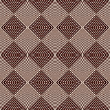 Overlapping diagonal lines background. Grid scrappy checkered texture. Outline seamless pattern with geometric ornament. Royalty Free Stock Photo