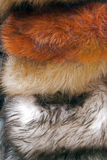 Overlapping fur hats Royalty Free Stock Photo