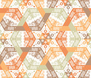 Overlapping intensive and seamless patterns. Overlapping patterns appropriate for multiplying Royalty Free Stock Image