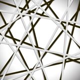 Overlapping Lines Background. Gray background, web, line shadow,design  background Stock Photography