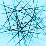 Overlapping Lines Background Stock Photography