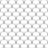 Overlapping shaded spheres, orbs. Repeatable background. With shaded circles. Seamlessly repeatable geometric pattern - Royalty free vector illustration Royalty Free Stock Photography