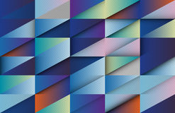 Overlapping shapes, Colorful background, Blue tone Royalty Free Stock Image