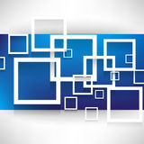 Overlapping squares concept background. Vector overlapping squares concept background Royalty Free Stock Photos