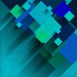 Overlapping Squares - Velvet Background Stock Photo