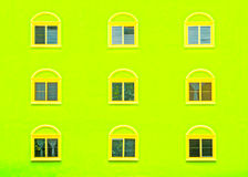 Overlapping windows Royalty Free Stock Photography