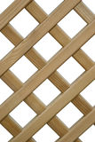 Overlapping wooden fence Royalty Free Stock Photography